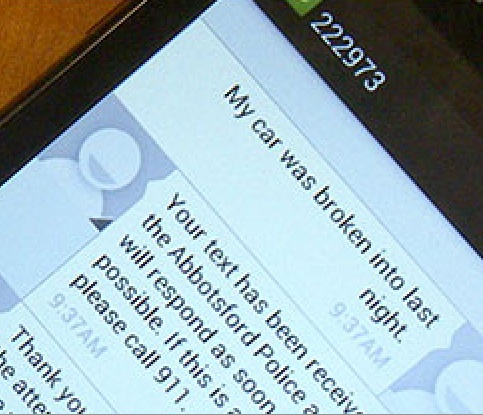 APD Introduces SMS Reporting For Non-Emergency Incidents